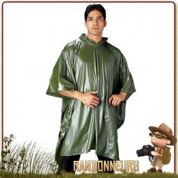 Poncho de protection contre la pluie randonnée, le trek, et le bushcraft. Poncho léger pour randonner ou marcher