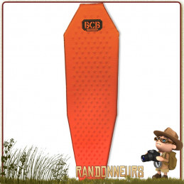 Matelas de randonnée légère, le matelas auto-gonflant TREK est compact, robuste et léger.