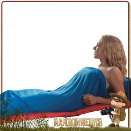 """drap de sac de couchage Coolmax de Sea To Summit est un """"sac à viande"""" spécialement conçu pour les climats chauds"""