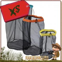 Sac Compartiment pour sac à dos en nylon Mesh Stuff Sack 4L Sea To Summit ultra léger