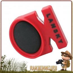 Aiguiseur de poche QuickFix de Lansky avec double fente d'affutage pour lame de couteaux, tungstène et céramique