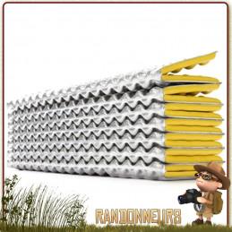 Matelas Thermarest Z-LITE SOL surface aluminisée ThermaCapture barrière réfléchissante pour d'augmenter la chaleur