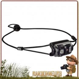 Lampe Frontale PETZL Bindi Noire rechargeable ultra légère