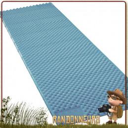 Tapis de sol Matelas Z LITE SOL Thermarest Bleu avec revêtement aluminisé thermacapture pour maintenir la chaleur corporelle