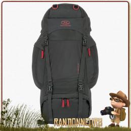 Sac à Dos randonnée RAMBLER 66 Litres de Highlander est un sac à dos robuste et compact, très apprécié par les randonneurs