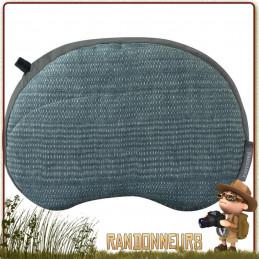 Coussin Air Head Gonflant Thermarest avec housse douce au toucher extérieur brossé lavable en machine ultra leger