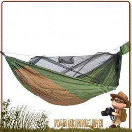 Hamac Adventure Hero XXL Amazonas de grande taille pour un couchage bushcraft jungle spacieux anti moustiques