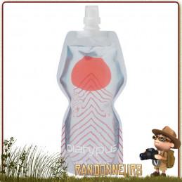 Gourde Plastique Souple Soft Bottle Push Pull 1 Litre Platypus APEX