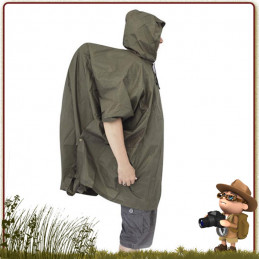 Poncho Windshield Active Leisure de randonnée avec couvre sac à dos trekking intégré