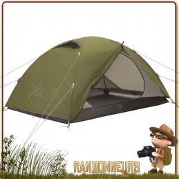 Tente LODGE 2 places ROBENS spacieuse randonnee bushcraft bikepacking trois saisons ventilée