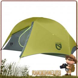 Tente 2 places ultralégère fyrefly 2p nemo autoportante. 2 entrées et 2 absides stocker équipement de randonnée