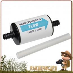 Cartouche de filtration Platypus charbon actif Gravityworks de Platypus, éliminez les mauvais goûts du chlore