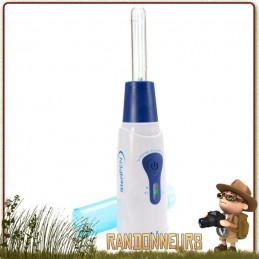 purificateur d'eau potable Steripen Classic 3 offre un traitement ultra violet fourni avec pré filtre sédiments