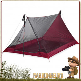 Tente MSR Thru Hiker Mesh House 2 V2 minimaliste ultra light de trekking