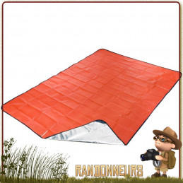 couverture de survie tarp all season SOL Survive Outdoors Longer se protéger du froid, tarp abri survie, tapis de sol