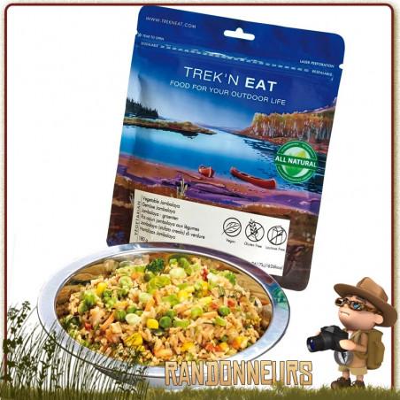 Riz Cajun Jambalaya aux Légumes Trek'n Eat