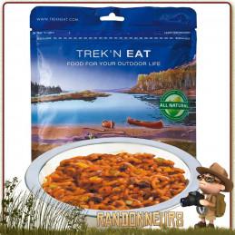 repas végan lyophilisé de randonnée Quinoa Sauce Méxicaine Trek'n Eat