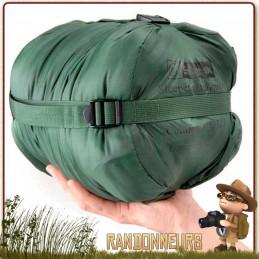 Le sac de couchage SLEEPER LITE Snugpak Fibres isolantes synthétiques creuses température confort de -5°C