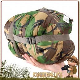 Sac de Couchage militaire SLEEPER ZERO CAMO Snugpak spécial grand froid bushcraft