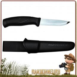 Poignard bushcraft Mora COMPANION F, autant de polyvalence dans un seul couteau MORA survie