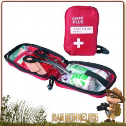 Trousse de premiers secours et soins, Basique de Care Plus, pour les séjours courts, les activités sportives randonnée