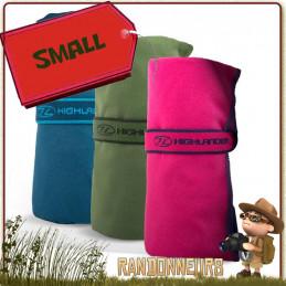 serviette polyester micro-fibres est ultra légère et absorbante. 80 x 40 cm. Absorbe cinq fois son poids en eau