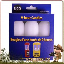 """Pack bougies de rechange lanterne UCO """"Original Candle"""". éclairage naturel et chaleureux pendant près 9 heures"""