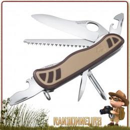 Couteau Suisse TRAILMASTER DESERT CAMO Victorinox 10 fonctions et 6 pièces bushcraft et militaire