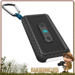 Batterie externe étanche, Rugged 10.000 mAh X-Moove, très robuste et adaptée aux treks Capacité de 10.600 mAh