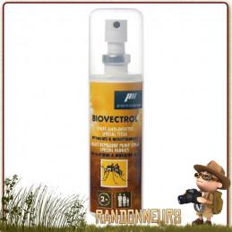 Spray Lotion Biovectrol Tissus anti-moustiques pour le traitement de vos vêtements et tissus. A base de Perméthrine