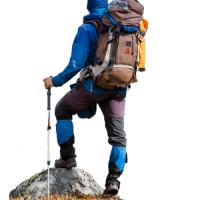 matériel trekking ultra léger pas cher bâton de marche nordique lampe frontale petzl légère boussole orientation silva couteau opinel pliant randonnée