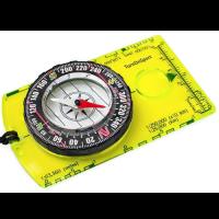 boussole compas navigation trekking avec visée bain d'huile silva porte carte scout étanche de randonnée légère