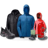 vêtement randonnée légère poncho trekking étanche ultra light sea to summit bonnet gants arva randonneur